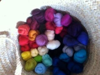 Felt wool